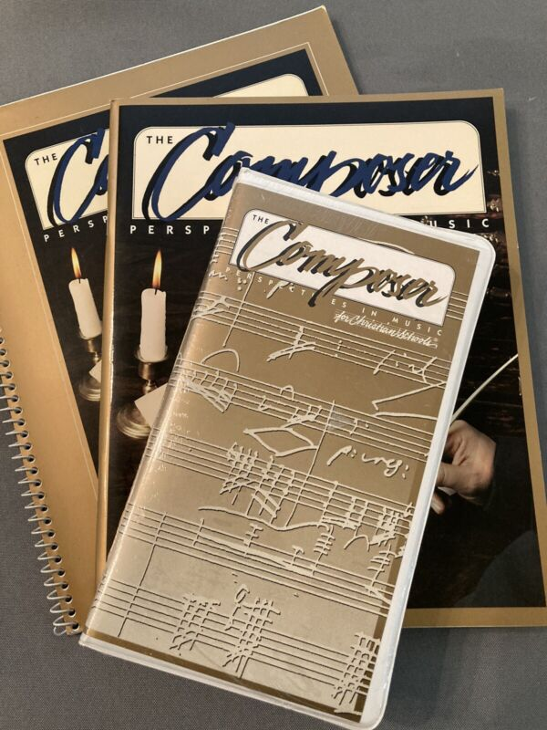 The Composer, Perspectives In Music Theory For Christian Schools, Brand New