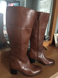 Naturalizer brown leather boots