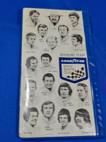 1977 Goodyear Tire Motor Sports Club Advertising LOT Indy 500 Pass Racing Map