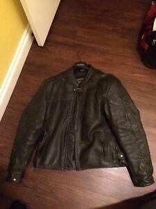 Large icon motorcycle jacket