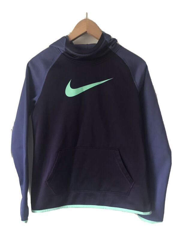 Nike Girls XL Purple Pullover Athletic Hoodie