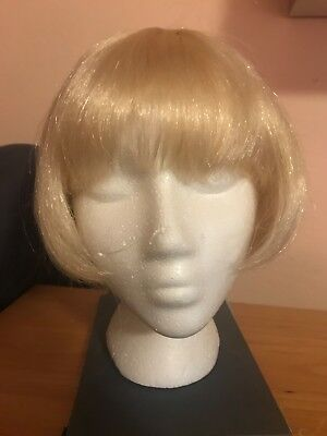 Short Bob blonde wig, 1920's style or - 1920s Style Wigs