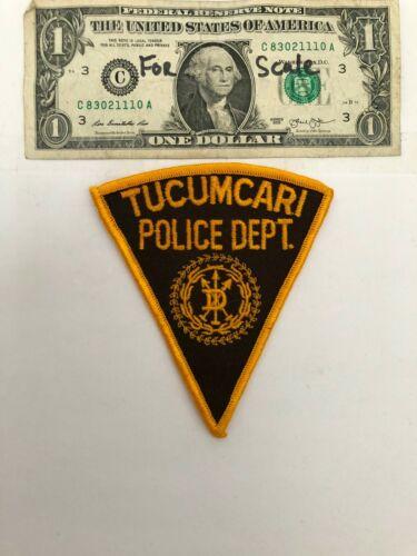 Tucumcari New Mexico Police Patch Un-sewn great condition