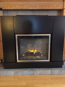 Electric fireplace with heater NEW PRICE!
