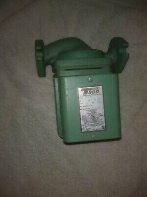 Taco 0011-f2 Hot Water Circulator Pump17 Hp