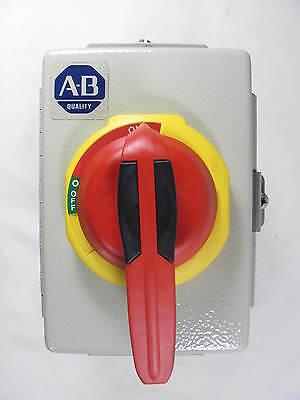 Allen Bradley Disconnect Switch Enclosure 194e-fa16e Ser B New No Box Nnb