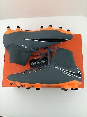 32d0f5d68 Nike Hypervenom Phantom 3 Academy DF FG Soccer Cleats Men's Size 10.5 K88-30