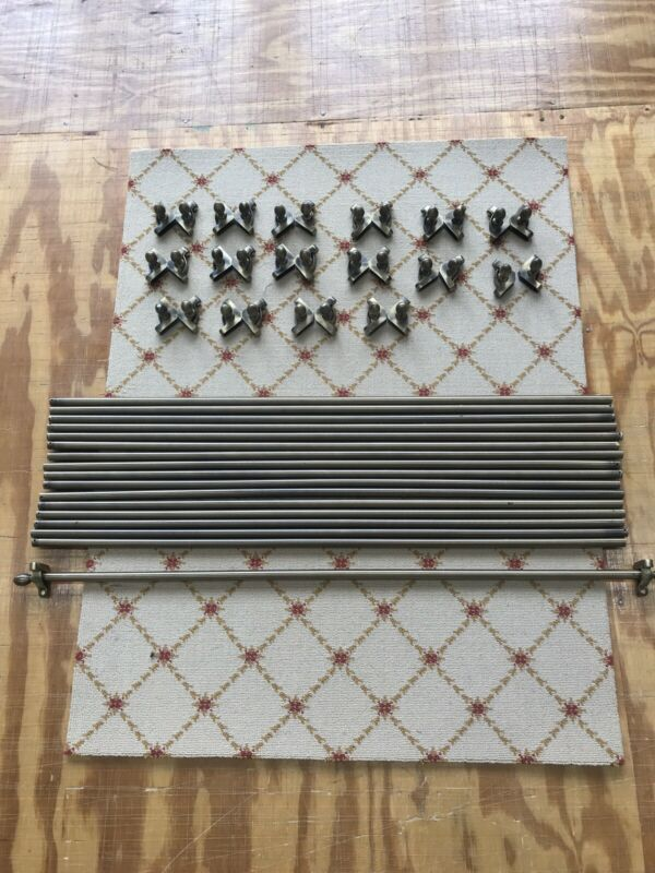Stair Rods used