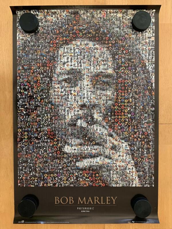 Bob Marley Photomosaic 24x36 Poster