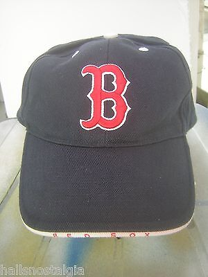 Boston Red Sox Quality Baseball Cap with adjustable cloth strap