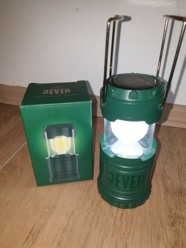 Solarleuchte 6 LEDs 120 Lumen!! 10 x Jever Bier Outdoor Solarlampe
