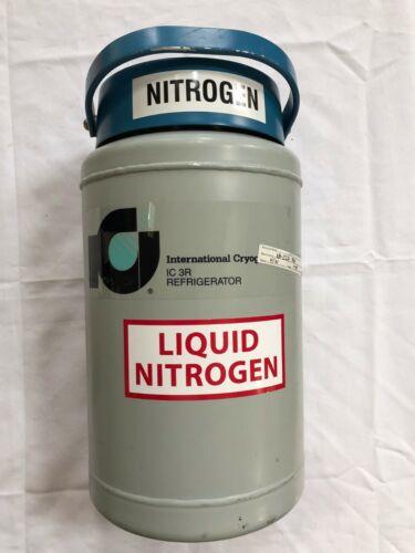 International Cryogenics IC 3R Refrigerator Dewar Group