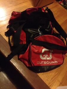 Outbound 90L duffel bag/ backpack