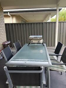 Outdoor table with chairs x5 Hillcrest Port Adelaide Area Preview