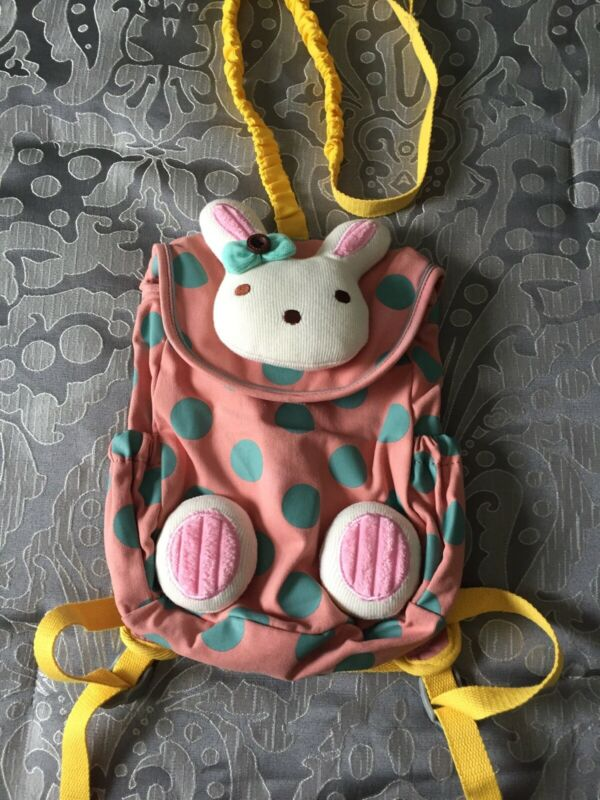 Kids Toddler Baby Cute Rora Ailey Bunny Safety Harness Backpack Pre Owned