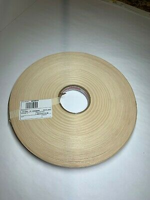 "Redwood wood veneer edgebanding 7//8/"" x 120/"" fleece back with no adhesive 1//50/"""