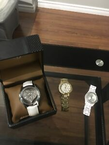 GUESS AND FOSSIL WATCHES