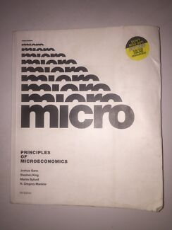 Microeconomics textbook books gumtree australia free local principles of microeconomics textbook 6th edition pdf fandeluxe Image collections
