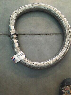304 Stainless Steel Metal Hose Braided Flexline