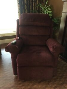 Medical power lift recliner chair