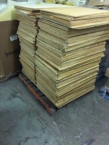 "33"" x 24"", 3/8"" pieces of plywood for sale"