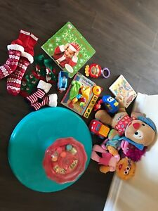 BABY LOT XMAS AND TOYS TONS OF CUTE STUFF