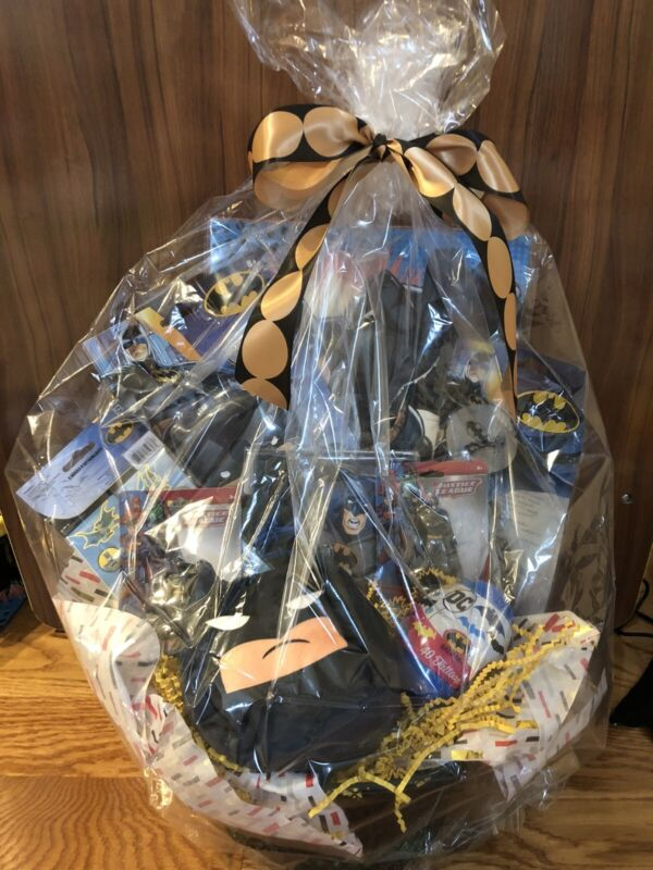 Batman Easter Basket with Quality Batman Products All New! Hi Gift Basket