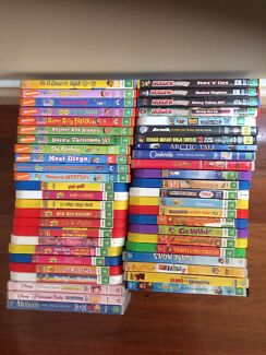 Assorted kids dvds Roxburgh Park Hume Area Preview