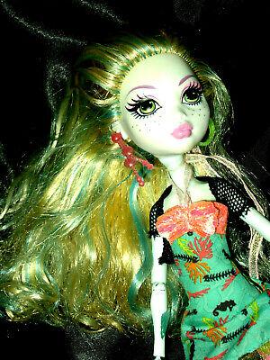 Barbie Mattel  -  Monster High Puppe - Monster High Lagoona