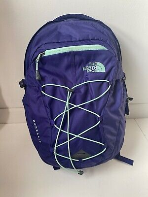 The North Face Borealis Flexvent Womens Backpack Bag Purple Laptop Compartment