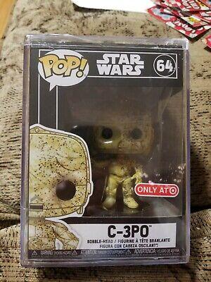 NEW Funko Pop! C-3PO Futura Star Wars #64 Target Exclusive W/ Protector