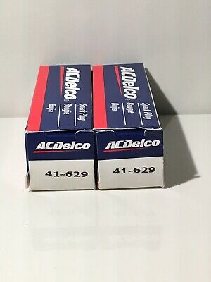 Lot Of 2 AC Delco Conventional Spark Plugs 41-629 Spark Plug