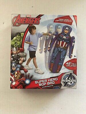 Marvel Avengers Captain America Super Hero Bop Bag Inflatable 42