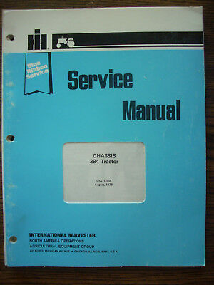 Ih Farmall International 384 Service Manual