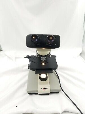Accu-scope 3000 Lab Microscope 4 Objective