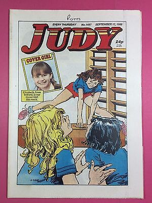 JUDY - Stories For Girls - No.1497 - September 17, 1988 - Comic Style Magazine