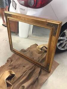 Small Ornate Gold Mirror (950x800) Putney Ryde Area Preview