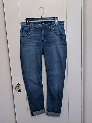 Hudson Bacara Straight Crop Jeans size 30