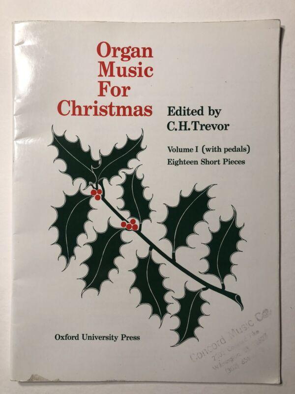 ORGAN MUSIC FOR CHRISTMAS VOL. 1 edited Trevor (Oxford Univ Press