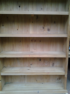 Large solid wooden bookcase In very good con. Measures 181cm high Normanhurst Hornsby Area Preview