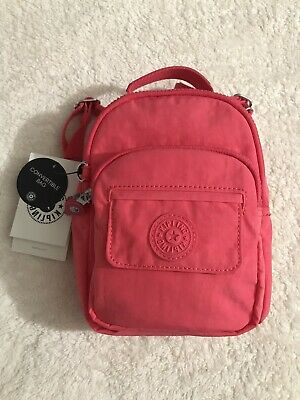 Kipling Alber 3-In-1 Convertible Mini Bag Backpack