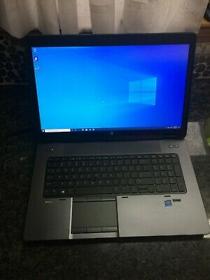 HP ZBook 17 G2 Intel i7 4810HQ 32GB RAM 500GB SSD HD Win10 Pro NICE!!