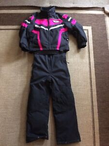 Snowmobile suit Girls size 10