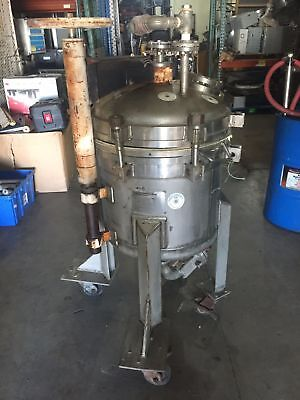 Duriron Filtration Stainless Steel Filtering Pressure Tank Vessel