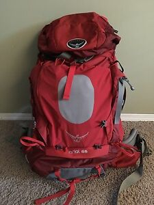 Women's Ariel 65 litre travel backpack