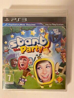 Play Station 3 Spiel - Move - Start the Party - Familie Kinder PS3 5 Kamera NEU