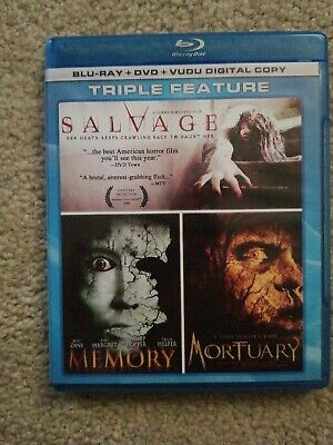 Salvage Memory & Mortuary Blu Ray & DVD. Tobe Hooper. Horror.
