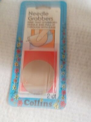 NEW Collins Needle Grabbers 2 count 1 package