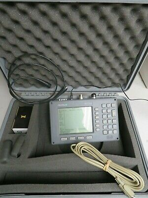 Anritsu Ms2711b Handheld Spectrum Analyzer 100khz-3ghz W Case Charger - Nj17