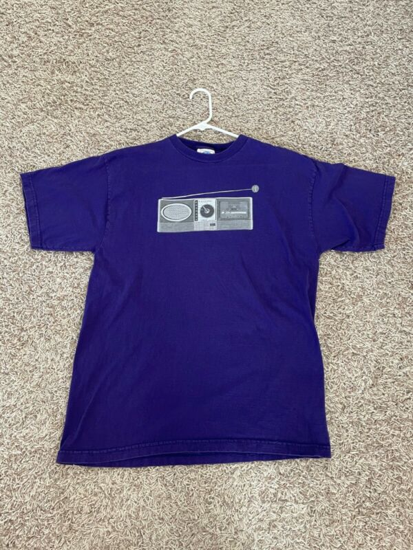 Beck Concert Tour 1997 T-shirt XL Purple great used condition authentic